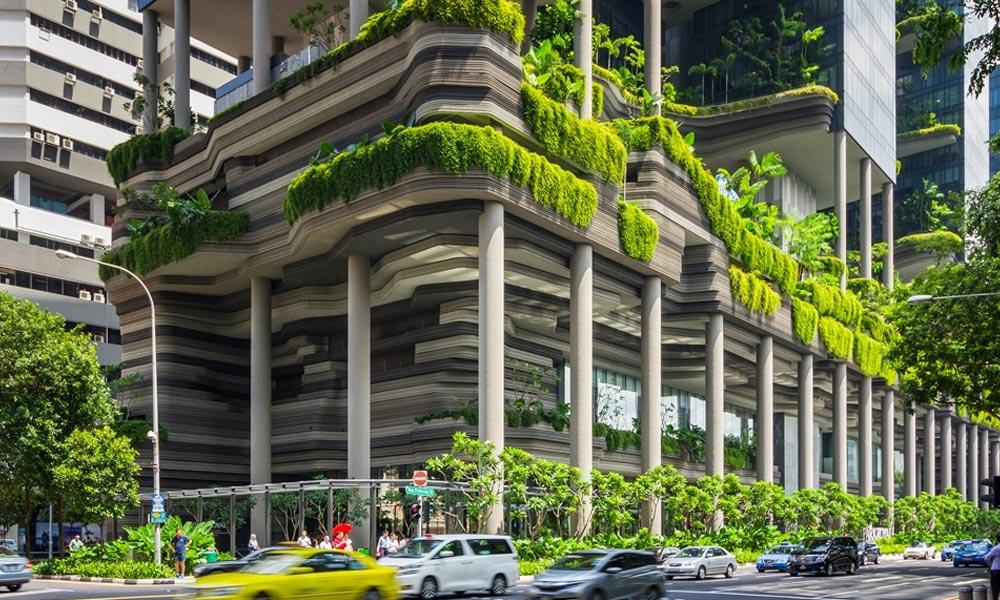 ''سنگاپور'' 80 فیصد عمارتوں کو سبز بنانے کا ہدف