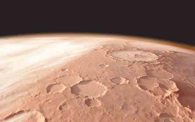 سیارہ مریخ پر پانی کا نظام دریافت