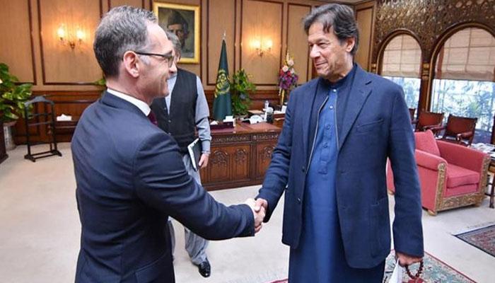 وزیراعظم عمران خان سے جرمن وزیر خارجہ ملاقات