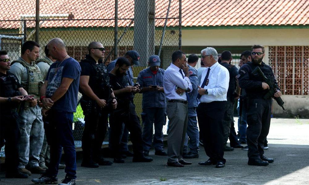 برازیل: اسکول میں مسلح افراد کی فائرنگ، 8 افراد ہلاک