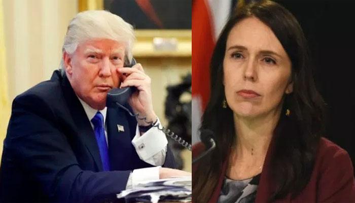 نیوزی لینڈ کی وزیراعظم نے ٹرمپ کو لاجواب کردیا