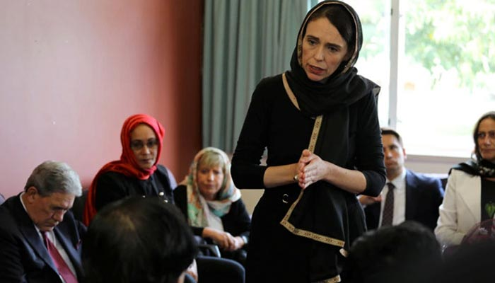 نیوزی لینڈ کی وزیراعظم کی مسلم کمیونٹی سے تعزیت