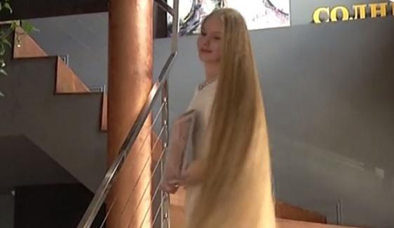 15 Years Old Girl Sets Guinness World Record For Long Hair