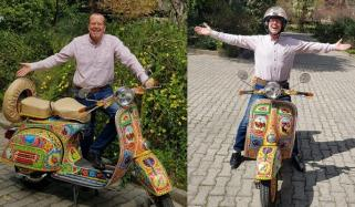 Haa My Vespa Is Here German Ambassador Martin Kobler