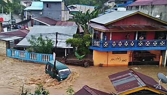 انڈونیشیا میں بارش اور سیلاب، 50 افراد ہلاک