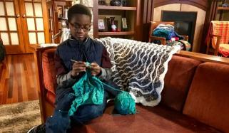 This 11 Year Old Boy Is A Crocheting Sensation