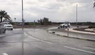 Hail Heavy Rain And Thunderstorms Hit Uae