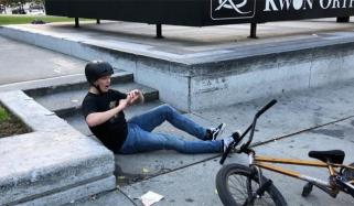 American Riders Bmx Trick Goes Wrong