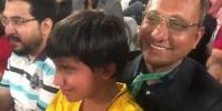 Saeed Ghani Tries To Console His Son During Psl