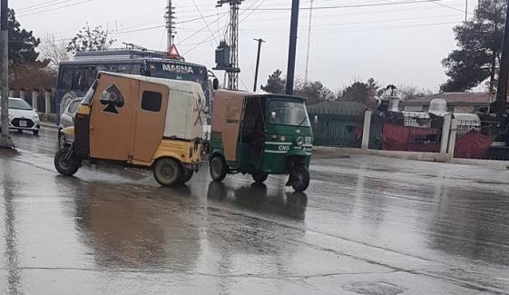 Heavy Rain Lashes Quetta