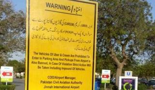 Ban Imposed On Online Taxi Services In Airport Premises