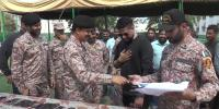 During Rangers Operation Recovered Items Handed Over To Owners