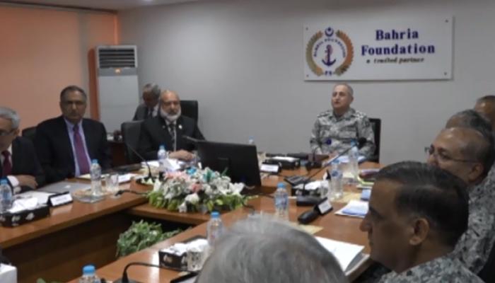 بحریہ فاؤنڈیشن کی کمیٹی آف ایڈمنسٹریشن کے اجلاس کا انعقاد