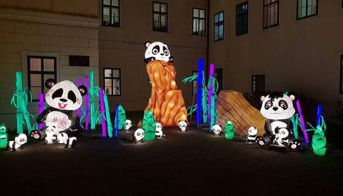 کروشیا میں تیسرے سالانہ لائٹ فیسٹیول کاآغاز