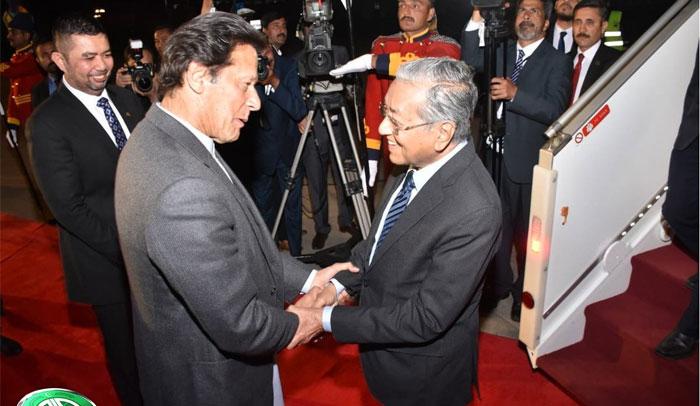 ملائشیا کے وزیراعظم مہاتیر محمدکی 3 روزہ دورے پرپاکستان آمد