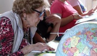 99 Year Old Granny Goes Back To School