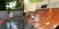 3 Year Old Girl Shows Off Mad Skateboarding Skills