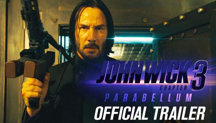 ہالی ووڈ فلم 'جان وِک چیپٹر3' کا نیا ٹریلر جاری