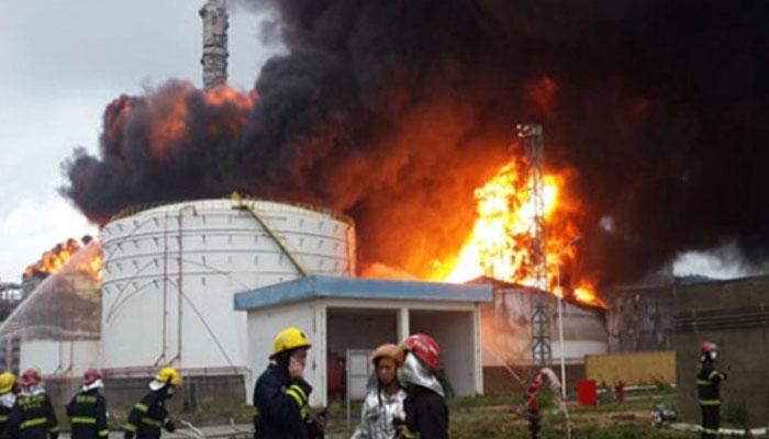 چین: کیمیکل پلانٹ کے دھماکہ، 47 افراد جاں بحق ہوگئے