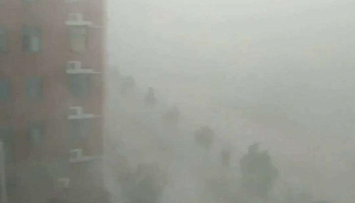 چین میں طوفانی بارش، 2 افراد ہلاک