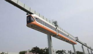 China Unveils Transparent Suspended Sky Train