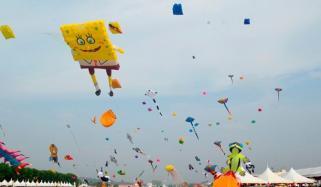1st International Kite Festival Held In Brunei