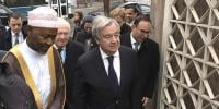 Un Chief Visits New York Mosque