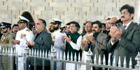 Governor Cm Sindh Mayor Karachi Visit To Mazar E Quaid