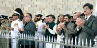 Governor Cm Sindh Mayor Karachi Visit To Mazar E Quaid
