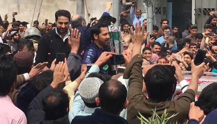کوئٹہ میں لوگوں کا پیار دیکھ کر مزہ آیا، سرفراز احمد