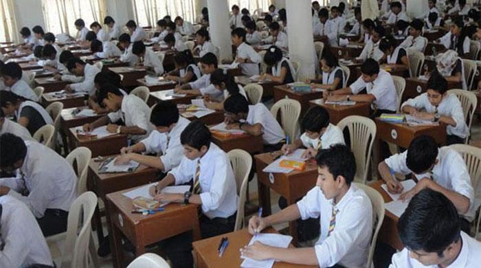 نویں اور دسویں جماعت کےامتحانات کا نیا شیڈول جا ری