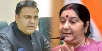Fawad Chaudhry Reply To Sushma Swaraj Seeks Report On Alleged Kidnapping Of 2 Hindu Girls In Pak