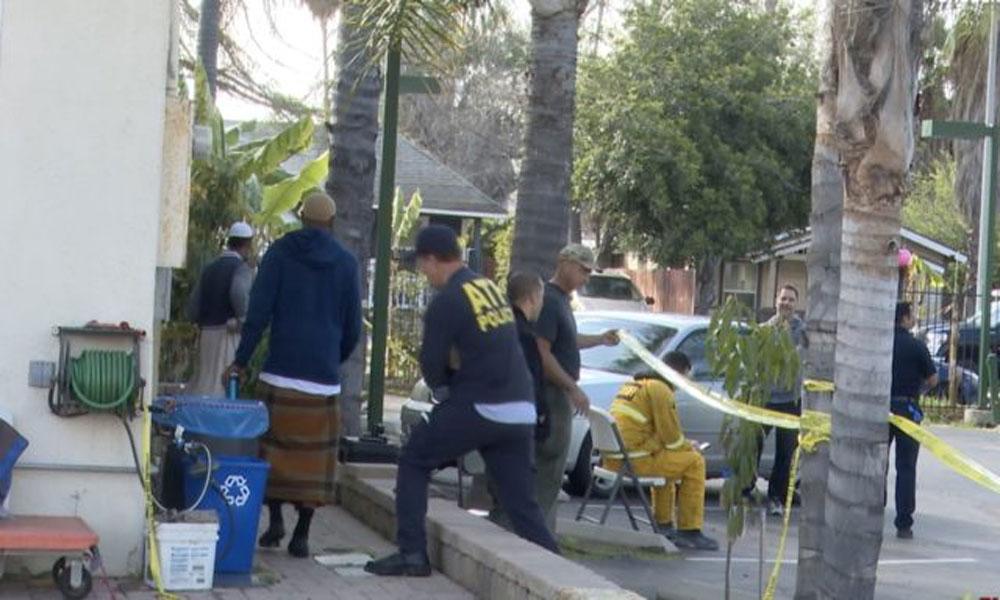 امریکا: کیلیفورنیا میں نامعلوم شخص نے مسجد کو آگ لگا دی
