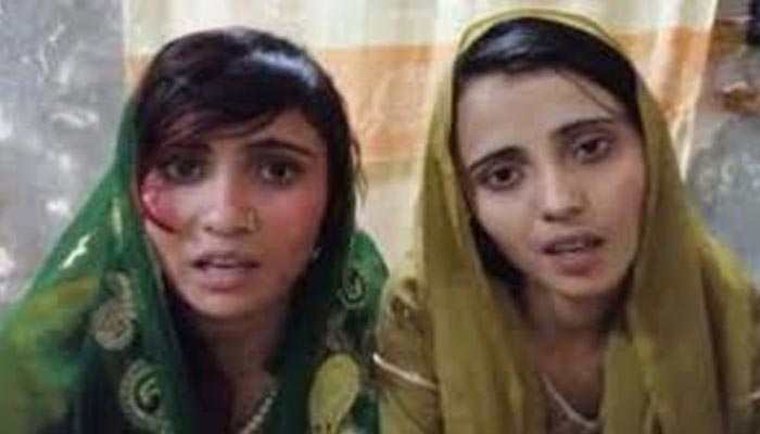 ہندو لڑکیوں کا مبینہ اغوا، نکاح خواں سمیت متعدد گرفتار