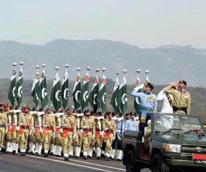 مسلح افواج کی شان دار یوم پاکستان پریڈ