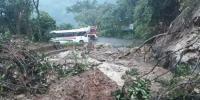 Landslide Disrupts Traffic In China