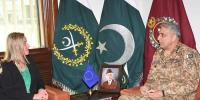 Eus Foreign Affairs Security Policy Top Official Called On Coas General Qamar Javed Bajwa
