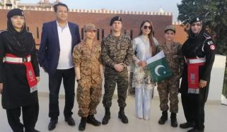 Veteran Actress Reema Khan Attends Make A Wish Event At Wagah