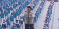 Chinese Teacher Adapts Viral Dance For His Schools Morning Exercise Routine
