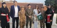 Veteran Actress Reema Khan Attends Make A Wish Event At Wagah