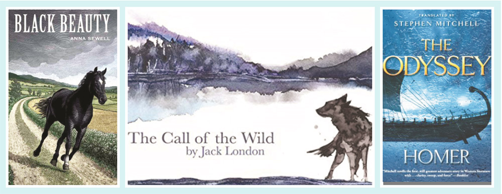 ادب  میں جانوروں، پرندوں، حشرات الارض کا تذکرہ