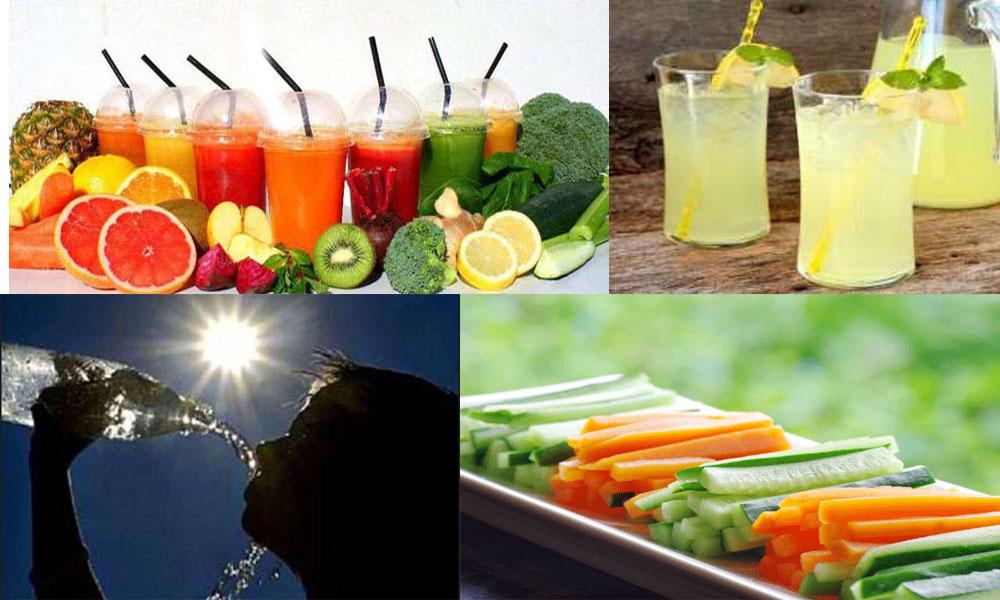 گرمیوں میں صحت مند کیسے رہا جائے؟