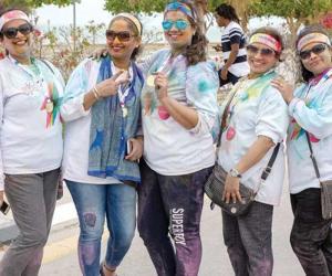 سعودی عرب ، رنگوں سے سجی دلچسپ ریس