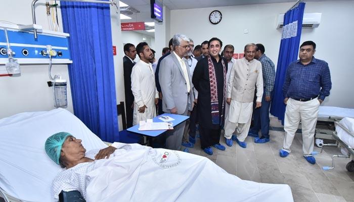 این آئی سی وی ڈی سندھ حکومت کی گڈ گورننس کی نشانی ہے، بلاول