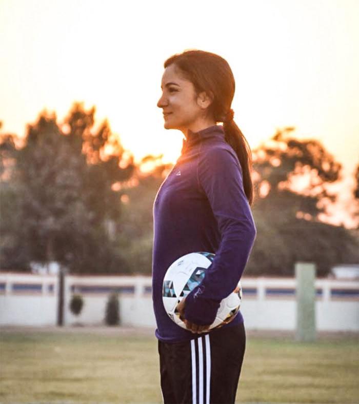 خاتون فٹبالر نے ایک اور اعزاز اپنے نام کرلیا