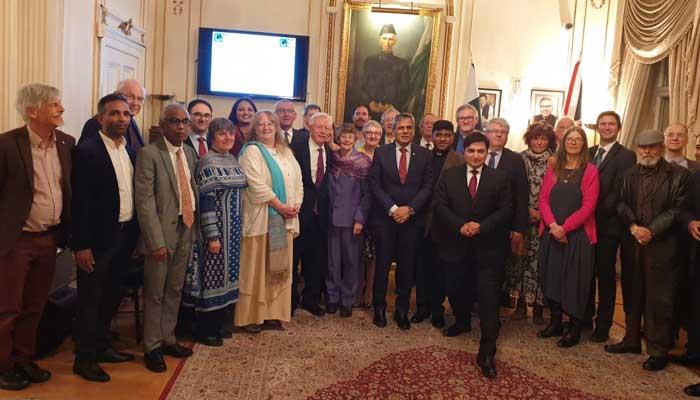 مسیحی مشنریوں کو خراج عقیدت ، لندن میں تقریب