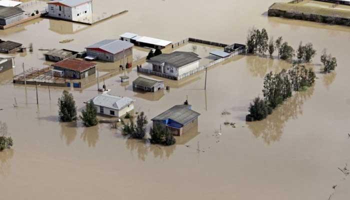 ایران میں سیلاب سےبڑے پیمانے پر تباہی