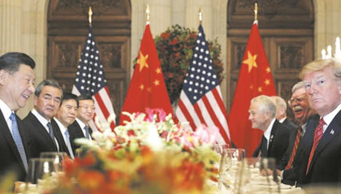 امریکا اور چین نے تجارتی مذاکرات کی مدت کا تعین کرنے کیلئے بات چیت کا دور مکمل کرلیا