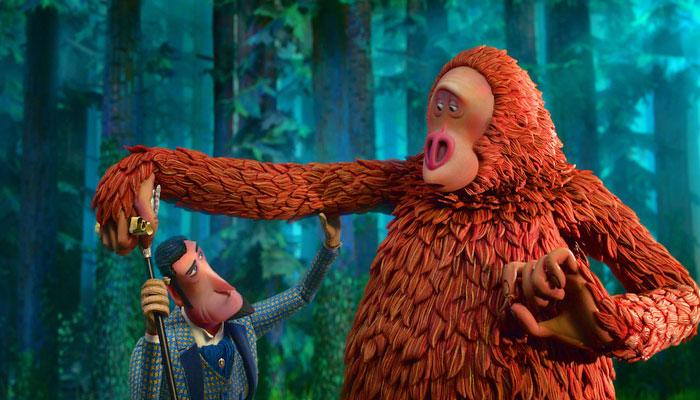 نیو یارک:ہالی ووڈ اینی میٹڈ فلم مسنگ لنک کارنگا رنگ پریمیئر