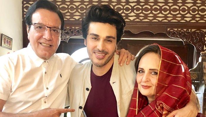 جیو کے ڈرامے'شاہ رخ کی سالیاں' میں احسن خان کا نیا روپ
